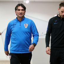 Zlatko Dalić i Ivan Rakitić (Photo: Sanjin Strukic/PIXSELL)