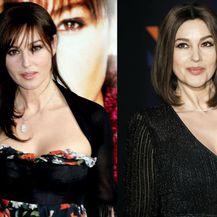 Monica Belucci prije 10 godina i danas