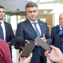 Andrej Plenković u obilasku Splitsko-dalmatinske županije - 1
