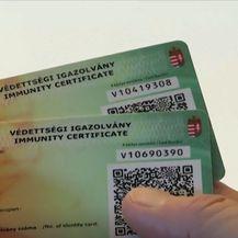 Mađarska iskaznica imuniteta