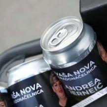 Promotivno pivo Andree Jerenić, kandidatkinje za gradonačelnicu Zaboka - 1