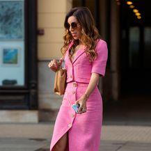 Street style kombinacija Yvonne Vrnoge