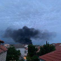 Požar u marini u Kaštel Gomilici - 3