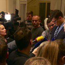 Plenković nije čuo govor (Video: Vijesti u 17 h)