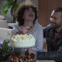 Olga Pakalović i Ivan Herceg slavili rođendan na setu (Video: IN magazin)