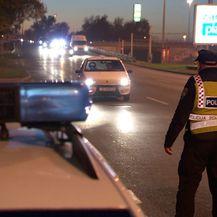 Policijska kontrola uoči Martinja (Foto: Dnevnik.hr)