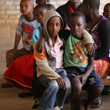Misa u Kivumu, u Ruandi, koju vodi fra Ivica Perić (Foto: Fabio Šimičev) - 11