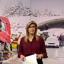 Nezgode ometaju promet (Video: Vijesti u 17 h)