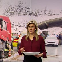 Opasna vožnja autocestom do Rijeke (Video: Vijesti u 17 h)