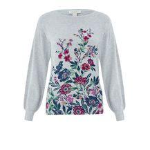 Puloveri s cvjetnim motivima iz trgovina - 2