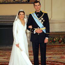U svibnju 2004. godine Letizia se udala za princa Felipea