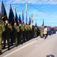 Kolona sjećanja u Škabrnji (Foto: Šime Vičević)