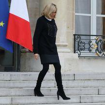 Brigitte Macron na sastanku u Elizejskoj palači - 6