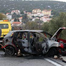 Prometna nesreća u Tisnom (Foto: Dusko Jaramaz/PIXSELL) - 5