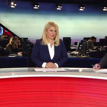 Ivo Farčić i Vesna Škare Ožbolt u studiju Nove TV prate presudu šestorki (Foto: Dnevnik.hr)