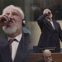Slobodan Praljak popio otrov u sudnici (Foto: ICTY/Dnevnik.hr)