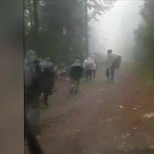 Migranti provaljuju u kuće (Video: Dnevnik Nove TV)
