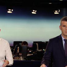 Domagoj Mikić o migrantima razgovara s mještaninom Željave (VIdeo: Dnevnik Nove TV)