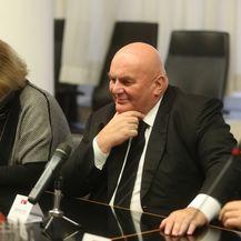 Gradonačelnik Grada Zagreba Milan Bandić, sa suradnicima, primio predsjednika Skupštine grada Jagodine Dragana Markovića Palmu (Foto: Matija Habljak/PIXSELL)