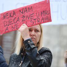 Prosvjed u Pučišćima (Foto: Ivo Čagalj/PIXSELL) - 3