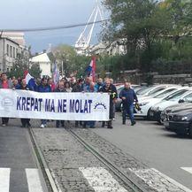 Radnici 3. maja izašli na ulice (Foto: Dnevnik.hr) 2