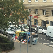 Zagreb zatrpan smećem (Foto: Silvija Antonović/Facebook)