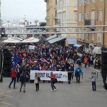 Radnici 3.maja izašli na ulice (Foto: Dnevnik.hr) 6