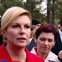 Predsjednica Kolinda Grabar-Kitarović o Marakeškom sporazumu (Video: Dnevnik.hr)
