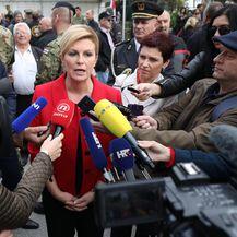 Predsjednica Kolinda Grabar-Kitarović o Marakeškom sporazumu (Foto: Jurica Galoic/PIXSELL)