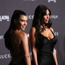 Kim i Kourtney Kardashian (Foto: Jesse Grant / GETTY IMAGES NORTH AMERICA / AFP)