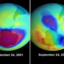 Ozonski omotač (Foto: AFP)