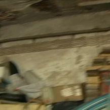 Problemi s urušavanjem zgrade koja je u vlasništvu Grada Pule, a na korištenje je dana Politehnici Pula (Video: Dnevnik Nove TV)