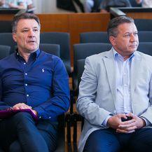 Zdravko Mamić i Damir Vrbanović (Foto: Davor Javorovic/PIXSELL)