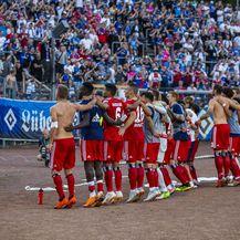 Igrači i navijači HSV-a (Foto: NordPhoto/NordPhoto/PIXSELL)