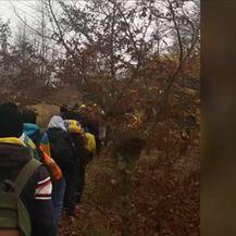 Migranti koriste rutu kroz Liku (Video: Dnevnik Nove TV)