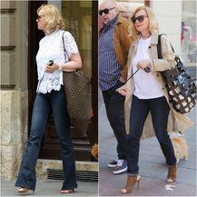 U slobodno vrijeme odvjetnica voli nositi traperice i vrlo moderne modele torbi