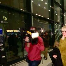 Vesna Todorić na zagrebačkom aerodromu (Video: Dnevnik Nove TV)