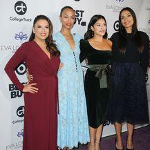 Eva Longoria, Zoe Saldana, Gina Rodriguez i Rosario Dawson