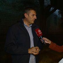Paula Klaić Saulačić razgovara s Ivom Mujom iz Udruge Agroturizam o novom projektu (Foto: Dnevnik.hr)