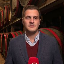 Dino Goleš izvještava o vinarstvu (Foto: Dnevnik.hr)