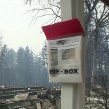 Potraga za žrtvama požara u Paradiseu (Video: APTN)
