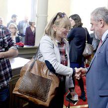 Bruna Esih i Milan Bandić (Foto: Patrik Macek/PIXSELL)