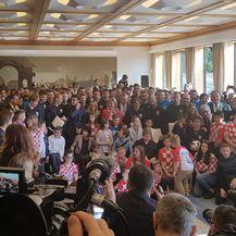 Vatreni na primanju kod predsjednice (Foto: GOL.hr)