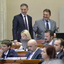 Radimir Čačić i Milorad Pupovac (Foto: Marko Lukunic/PIXSELL)