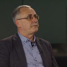 Željko Stipić, predsjednik Školskog sindikata Preporod, u Dnevniku Nove TV (Foto: Dnevnik.hr) - 1