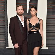 Lily Aldridge i Caleb Followill (Foto: AFP)