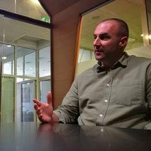 Branimir Vorša, novinar portala DNEVNIK.hr i Zoran Marinović, autor filma Sva lica rata (Foto: Dnevnik.hr)