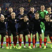 Hrvatska uoči utakmice protiv Španjolske (Foto: Igor Kralj/PIXSELL)