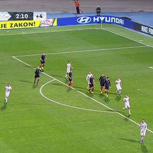 Jedvaj zabija gol za 3:2