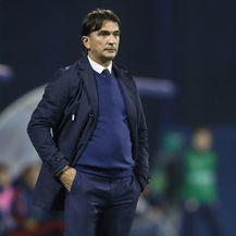 Zlatko Dalić na utakmici protiv Španjolske (Foto: Igor Kralj/PIXSELL)